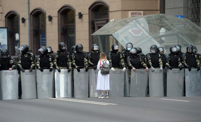 Ponad 100 tysięcy ludzi protestowało w niedzielę w Mińsku