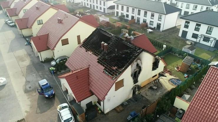 Pożar domu w Szczecinie. 10-latek zmarł w szpitalu