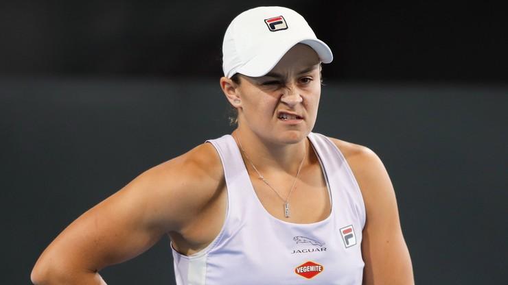 Ashleigh Barty wycofała się z turnieju WTA w Dausze