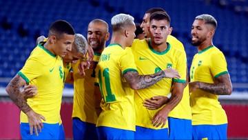 Brazylia górą w powtórce finału z Rio! Piłkarze rozpoczęli olimpijskie zmagania