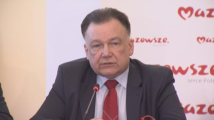 Marszałek chce by województwo przejęło lotnisko Warszawa-Modlin