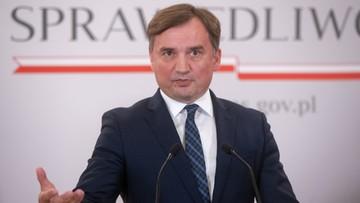 Ziobro: pierwsza prezes SN nie mogła podjąć innej decyzji