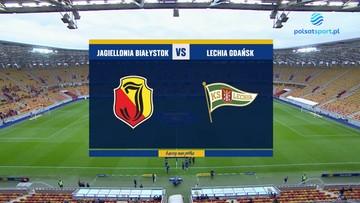 Jagiellonia Białystok - Lechia Gdańsk 1:3. Skrót meczu