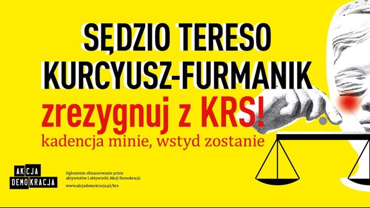 Odmówili powieszenia billboardów z nazwiskami sędziów-kandydatów do KRS