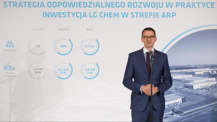 Morawiecki: zakaz handlu w niedziele to bardziej zmiana społeczna niż gospodarcza