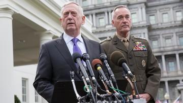 """""""Na zagrożenie dla USA lub ich sojuszników odpowiemy militarnie"""". Szef Pentagonu po próbie atomowej Korei Płn."""