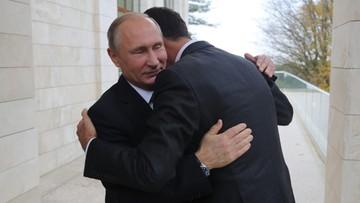 """Putin spotkał się z Asadem.  """"Naród syryjski zbliża się do ostatecznego rozgromienia terrorystów"""""""
