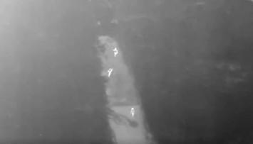 Porywacz-gwałciciel i jego ofiara namierzeni przez drona