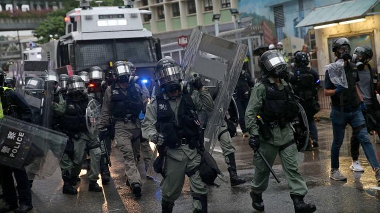 Hongkong: kolejny dzień protestów. Zarząd metra zamyka okoliczne stacje