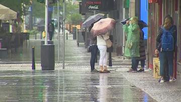 IMGW ostrzega przed burzami z gradem. Silne opady w pięciu województwach