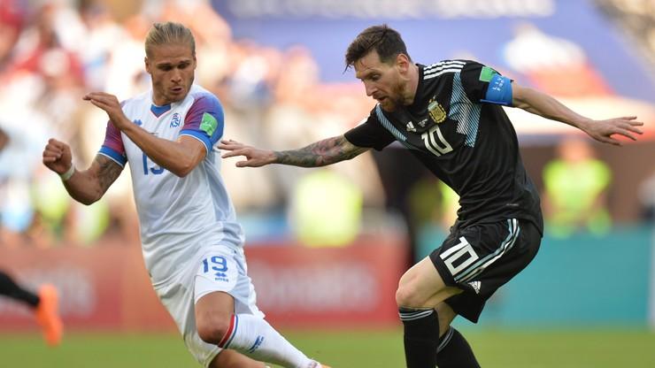 MŚ 2018: Reprezentant Islandii podbił Instagram dzięki 30 minutom z Argentyną
