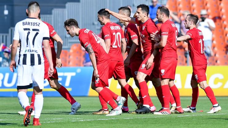 Ekstraklasa: Piast Gliwice przegrał z Sigmą Ołomuniec