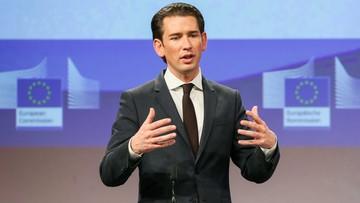 """""""Wobec Polski nie może być kompromisów"""". Austriacki kanclerz broni działań Komisji Europejskiej"""