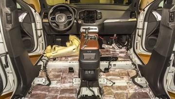 Dwieście kilogramów haszyszu w podłodze Volvo XC90