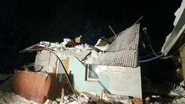 Śnieżyce na Podkarpaciu. Na trzech budynkach zawaliły się dachy