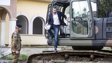 Włochy zadecydowały o wyburzeniu mafijnej willi. W buldożerze zasiadł minister