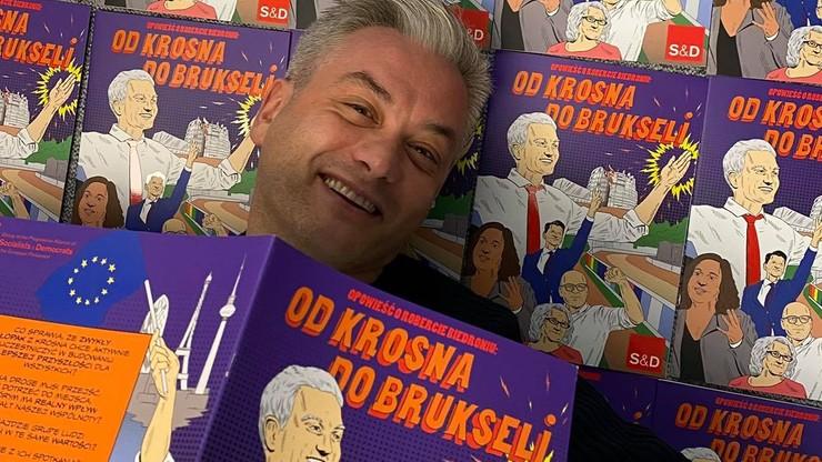 Nietypowa autobiografia Biedronia. Polityk bohaterem... komiksu