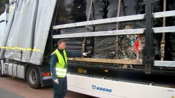 Zatrzymano nielegalny transport odpadów z Wielkiej Brytanii