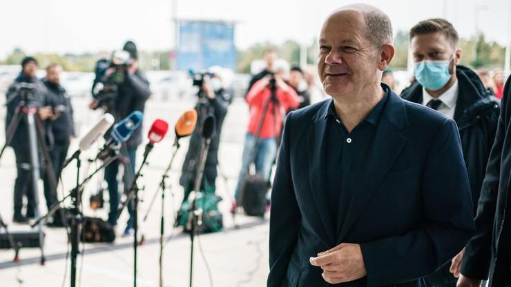 Niemcy. Scholz jest przekonany, że nowy rząd może powstać przed świętami Bożego Narodzenia