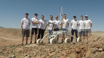 Łazik marsjański stworzony przez polskich studentów wygrał prestiżowe zawody w USA