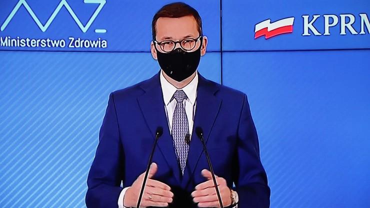 Morawiecki: koronawirus jest podstępny i wciąż atakuje