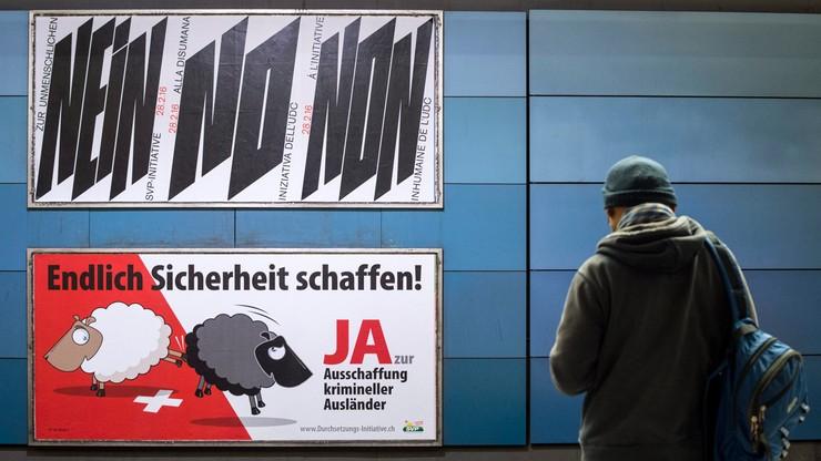 Szwajcaria: referendum ws. wydalania imigrantów skazanych za przestępstwa. Nawet najmniejsze