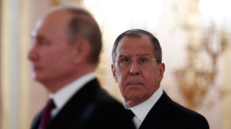 """Szef MSZ Rosji: USA wspierają prowokację """"raskolników"""" na Ukrainie"""