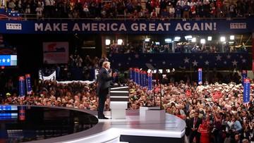 """""""Walka na głosy"""" na konwencji Partii Republikańskiej. Bunt przeciwników Trumpa stłumiony"""