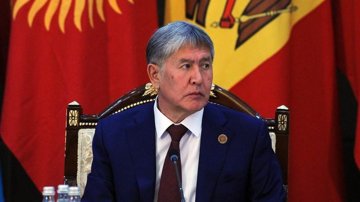 Były prezydent Kirgistanu oskarżony o planowanie zamachu stanu