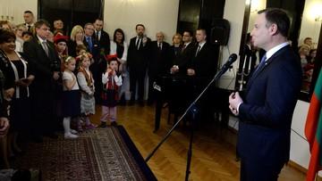 Prezydent Duda: pamiętam o Polakach mieszkających poza granicami