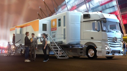 Najnowocześniejszy na świecie wóz transmisyjny 4K w Polsacie. Nadchodzi nowa jakość