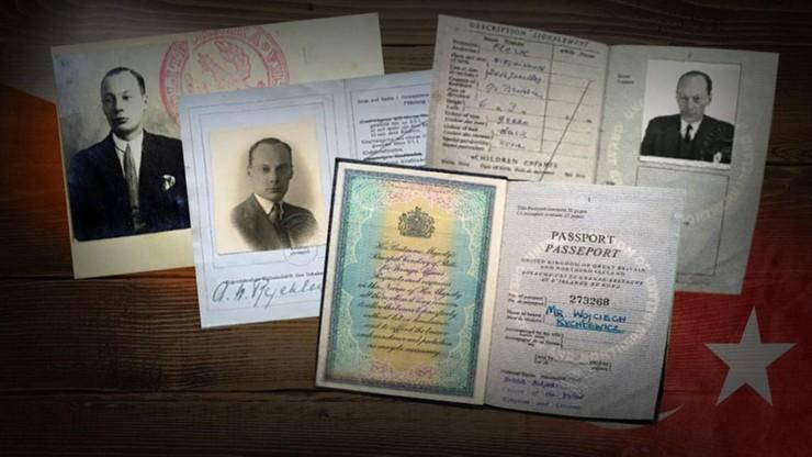 Konsul RP w Stambule Wojciech Rychlewicz pomagał w czasie wojny tysiącom Żydów
