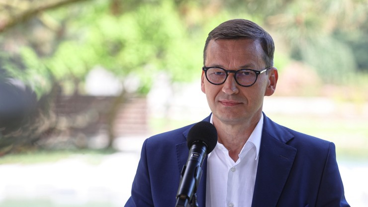 """Premier Mateusz Morawiecki promuje Polski Ład. """"Idziemy podobną ścieżką jak Japonia"""""""