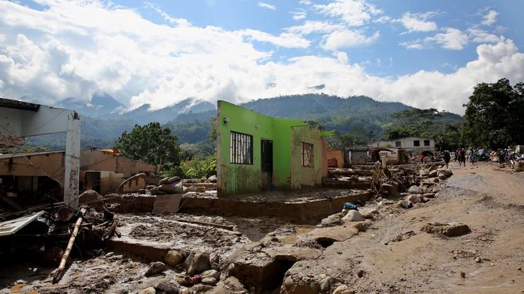 Już ponad 250 ofiar lawiny błotnej w kolumbijskim mieście Mocoa