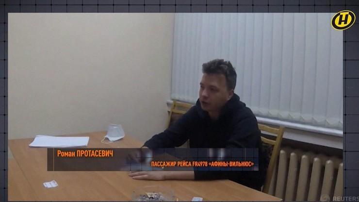 """Nowe nagranie Pratasiewicza z aresztu. """"Wyraźnie zastraszony"""""""