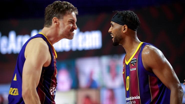 Euroliga: Barcelona finałowym rywalem Efesu Anadolu Stambuł. Przesądził rzut w ostatniej sekundzie