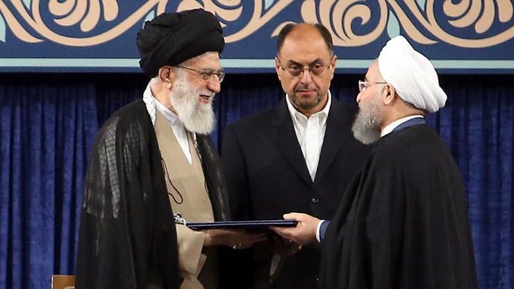 """""""Rząd jest przygotowany do obrony kraju"""". Prezydent Iranu zaprzysiężony na drugą kadencję"""