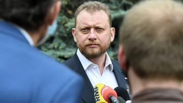 Nowe oświadczenie majątkowe Łukasza Szumowskiego. Poprzednie było nieczytelne