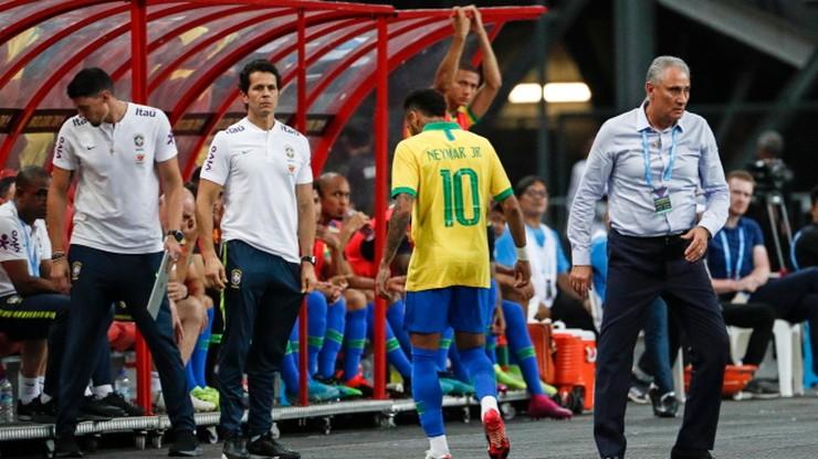 Brazylia zremisowała z Nigerią 1:1 w meczu towarzyskim, uraz Neymara