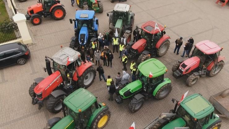 """Protesty rolników. """"Cała Polska stoi"""""""