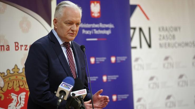 Jarosław Gowin: decyzja o dymisji Anny Korneckiej nie była ze mną konsultowana