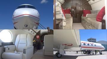 Pierwszy samolot dla VIP-ów wylądował w Warszawie. Zobacz, jak wygląda w środku