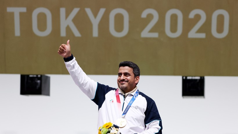 Tokio 2020: Javad Foroughi najstarszym w historii irańskim medalistą