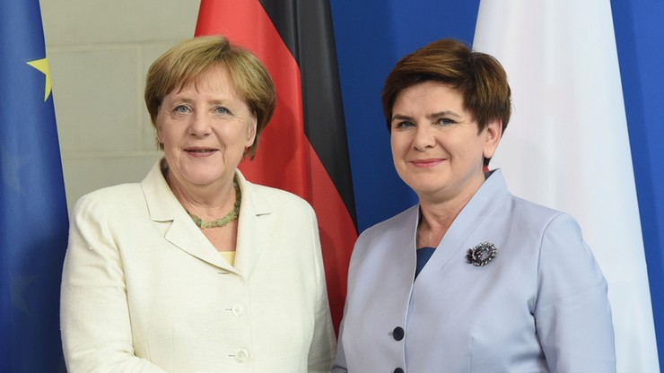 Merkel udzieliła Polsce poparcia ws. wschodniej flanki NATO