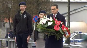 Wizyta premiera wraz z przedstawicielami mediów zagranicznych w Muzeum im. Rodziny Ulmów w Markowej