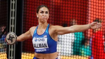 Dyskobolka Valarie Allman z trzecim wynikiem na świecie