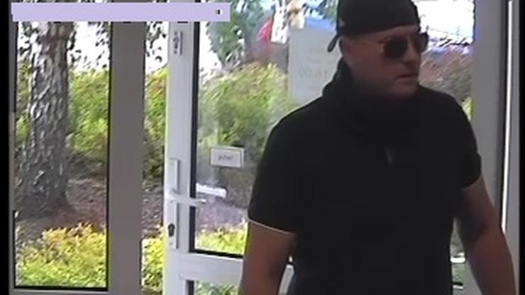 Napad na bank w Olsztynie. Policja poszukuje sprawcy