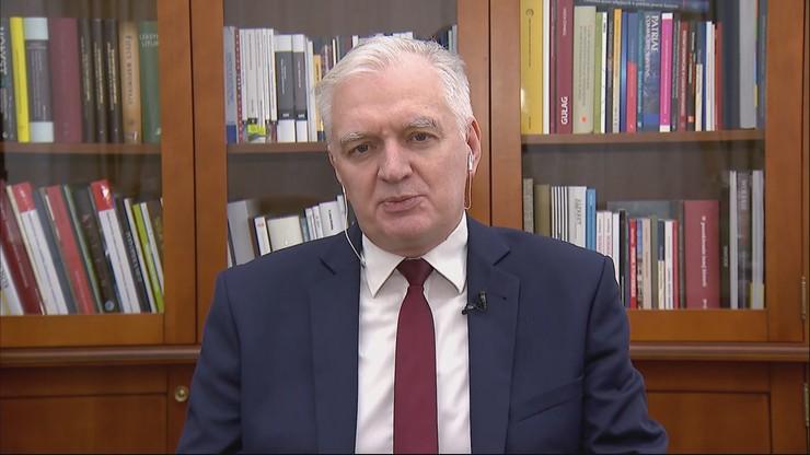 """Musimy przemyśleć Polskę na nowo - wicepremier Jarosław Gowin w """"Gościu Wydarzeń"""""""