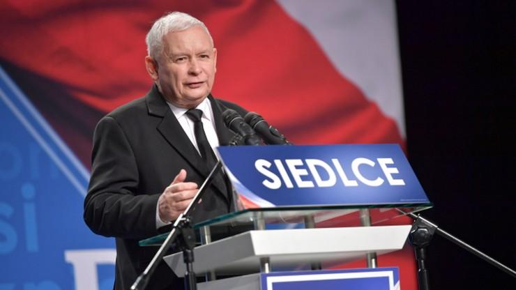 Kaczyński: my wojny totalnej nie chcemy. My chcemy zgody, współpracy