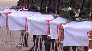45. ekshumacja ofiary katastrofy smoleńskiej. Do końca roku planowanych jest jeszcze 12 ekshumacji